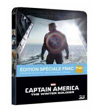 Captain America, le soldat de l'hiver - Blu-Ray 3D - Ed Steelbook Spécial FNAC