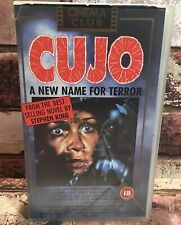 Stephen King's Cujo VHS Video Tape The Cinema Club Horror 18 Rated TBLO