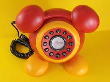 Walt Disney Mickey Mouse Telefon Telephone with illuminated Ringer mit OVP