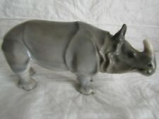 Royal Doulton ~ Figurine ~ Rhino ~ Hn 1401 ~ retired