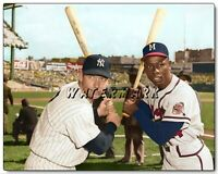 MICKEY MANTLE HANK AARON 1957 WORLD SERIES PRINT (comes in 4 sizes)