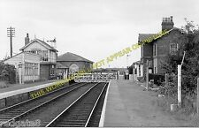 Nafferton Railway Station Photo. Driffield - Lowthorpe. Bridlington Line. (2)