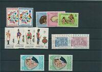 Gibralter Vintage 1973 Mint MNH Complete Description Read