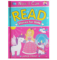 GIRLS NOW I CAN READ STORIES STORY READING BOOK BEDTIME 90 PAGES BY BROWN WATSON