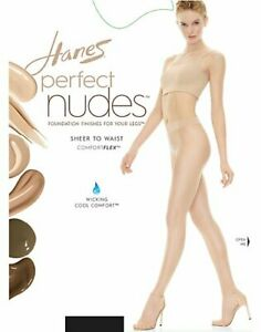 Hanes Perfect Nudes Sheer to Waist Run Resistant Light Tummy Control Hosiery