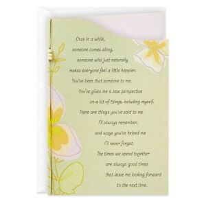 Hallmark Thanks for Being Wonderful Friendship Card