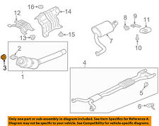 JAGUAR OEM 10-15 XJ 5.0L-V8 Exhaust-Catalytic Converter & Pipe Nut XR82889