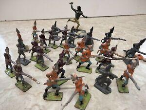 Metal toy soldiers