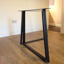 Vintage Industrial Rustic Dining Table Metal Legs (shabby Chic)