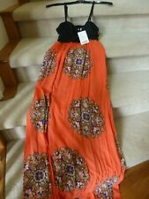 Brand New Anthroplogie Maxi Sleeveless Dress-XS-Gorgeous Colors