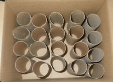 25 Clean Empty Cardboard Toilet & 2 Paper Towel Roll Tubes for Crafts