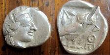 Greece ATTICA Athens Silver Tetradrachm Athena and Owl c. 449 - 413 B.C.