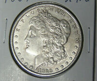 1889 Morgan Silver Dollar XF/AU Philadelphia Mint (71819)