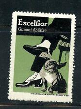 Germany Reklamemarken Cinderella Poster Excelsior Shoe Heels Boxer Dog Graphics