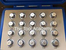 Locking Wheel Nut Key Set For Vauxhall GM EQUIV TO Z16512 - 121 TO Z16512 - 140