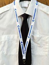 Lanyard EMBRAER Company WHITE neckstrap pilot crew Lanyard