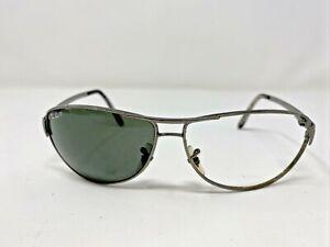 Ray-Ban WARRIOR Sunglasses Frame Italy RB 3342 004/58 60-12 3P Gunmetal ON47