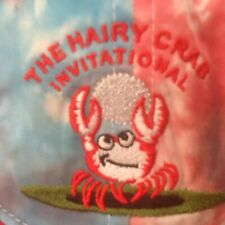 The Hairy Crab Invitational Golf Hat, Tie Dye, Embroidered 10th Anniversary Rare