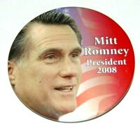 2008 MITT ROMNEY campaign pin pinback button political presidential election
