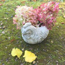 Pflanzgefäß als Huhn - Blumentopf Kräutertöpfe Terrasse, Pflanztöpfe Küche