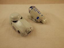 """Disney Lucas Films Star Wars R2D2 & Storm trooperdie cast  cars 2 3/4"""""""