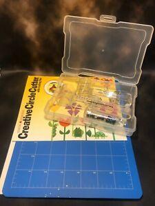 Making Memories Creative Circle Cutter Kit w/ Cutting Mat Perfect Circle