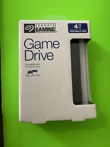 NEW Seagate 4TB Game Drive for Playstation 4 PS4 Ps5 Pro - Free ShipN!