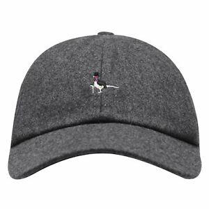 Jack Wills Mens Farnborough Check Wool Cap Baseball Panel Design