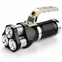 90000LM Spotlight Handheld T6 LED Flashlight 18650 Rechargeable Lamp Torch Hot