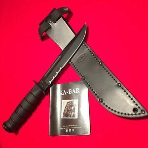 KA-BAR MODEL #1212 USA-BLACK-SERRATED, NEW N BOX  Made In USA 🇺🇸!!!