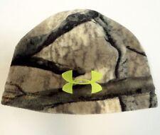 Under Armour Coldgear Infrared Mossy Oak Camo Fleece Beanie Skull Cap Mens NWT