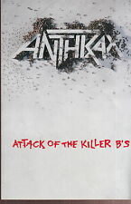 anthrax attack of the killer b's sticker promo