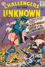 Challengers Of The Unknown #45 Vg, tape snags f/c, writing f/c, Dc Comics 1965