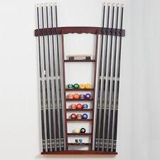 Hochwertiger Queuewandhalterung für bis zu 10 Queues von Billiard-Royal