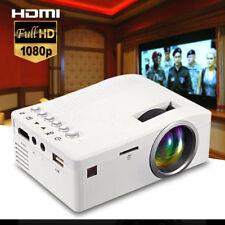 1080P 2000lumens Mini LED Projektor Heimkino-Beamer HDMI SD USB VGA MulitMedia