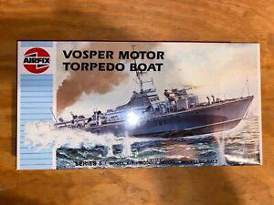 Airfix Vosper Motor Torpedo Boat 1:72 Scale Model Kit, Still Wrapped in Plastic