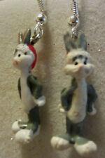 NORA WINN ~BUGS BUNNY~ Earrings 925 Christmas LOONEY TUNES MOVIE CHARACTERS