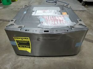 NEW Scratch and Dent WD100CV LG Pedestal Washer. SideKick A1