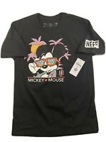 Disney Collection By Neff Mickey Mouse Graphic T Shirt Mens XL Black