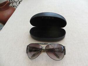 Pilgrim ladies vintage sunglasses  Danish Design case Aphelion real quality