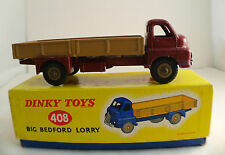 Dinky Toys GB n° 408 Big Bedford Lorry camion plateau ridelles en boite NMIB