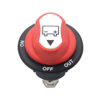 100A Battery Master Kill Switch Isolator Disconnect Rotary Cut Off Car