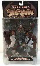 Spawn Dark Ages Series 11 SPAWN The BLACK KNIGHT Todd McFarlane Toys 1998 MIB ~a