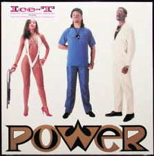 Ice-T - Power LP - Black Vinyl Album - SEALED - Hip Hop Record Reissue