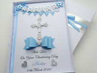 Personalised Baptism/Christening Day Boy Girl First Holy Communion Gift Box 3D
