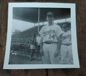Original B&W Minor League Baseball Photo 1965 Arkansas Travelers Fred Walters
