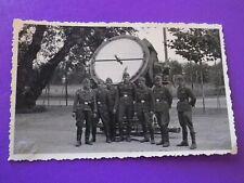 Foto mit Flak Suchscheinwerfer 2.WK