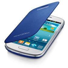 Cover e custodie blu opaco in pelle per cellulari e palmari