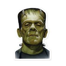 Frankenstein Vinyl Sticker Decal Halloween Spooky Scary