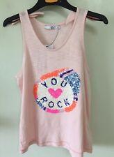Girls Sequinned Vest 12/13